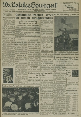 Leidse Courant 1958-03-20