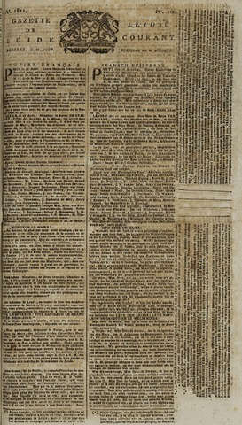 Leydse Courant 1811-08-21