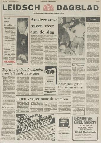 Leidsch Dagblad 1979-09-07