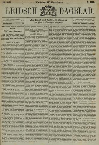 Leidsch Dagblad 1890-10-17