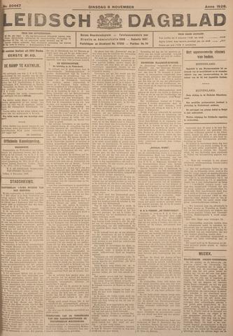 Leidsch Dagblad 1926-11-09