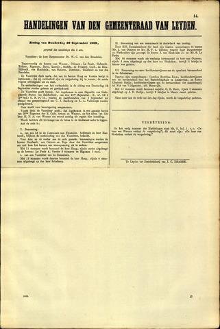Handelingen van de Raad 1869-09-30