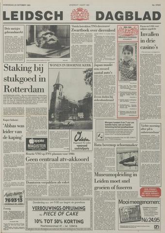 Leidsch Dagblad 1985-10-23