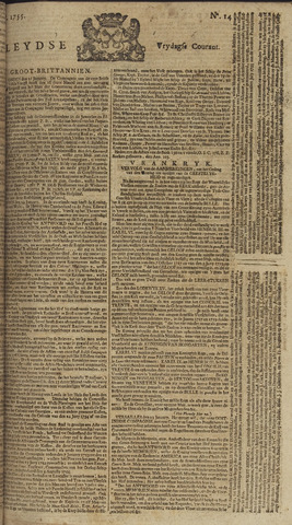 Leydse Courant 1755-01-31