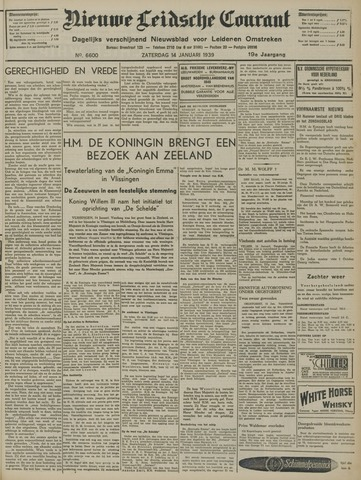 Nieuwe Leidsche Courant 1939-01-14