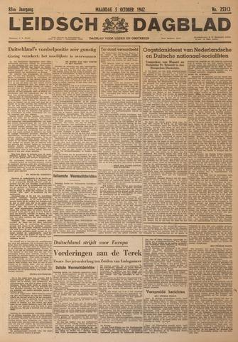 Leidsch Dagblad 1942-10-05