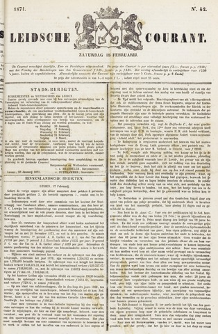 Leydse Courant 1871-02-18