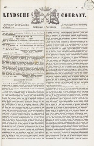 Leydse Courant 1865-11-01