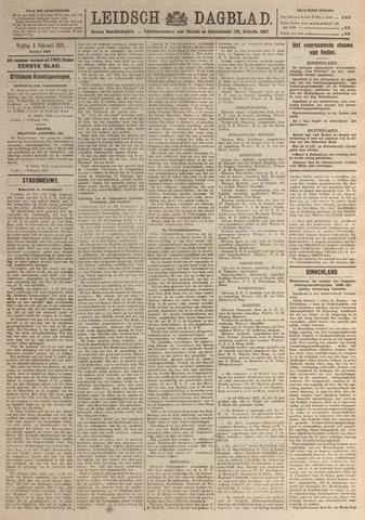 Leidsch Dagblad 1921-02-04