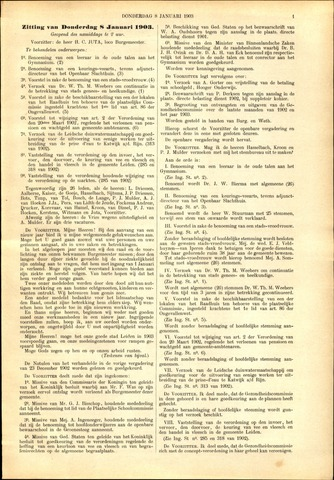 Handelingen van de Raad 1903-01-08