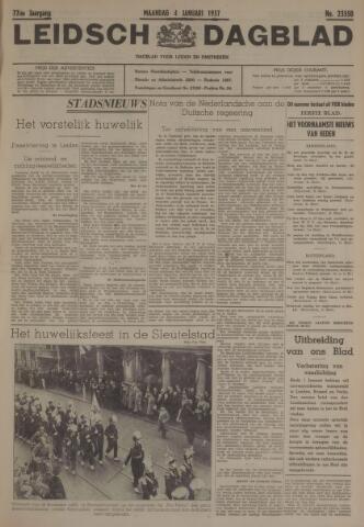 Leidsch Dagblad 1937-01-04