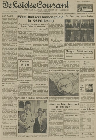 Leidse Courant 1954-10-23