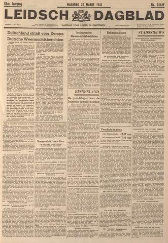 Leidsch Dagblad 1942-03-23