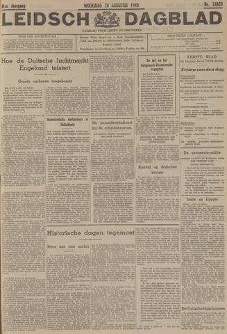 Leidsch Dagblad 1940-08-28