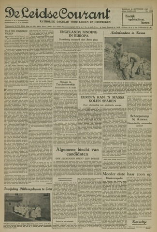 Leidse Courant 1952-09-30