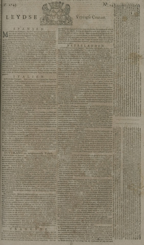 Leydse Courant 1743-02-01