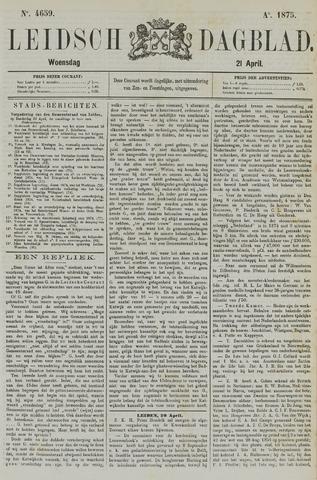 Leidsch Dagblad 1875-04-21
