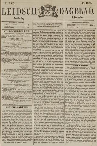 Leidsch Dagblad 1875-12-09