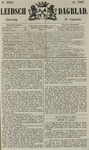 Leidsch Dagblad 1867-08-31