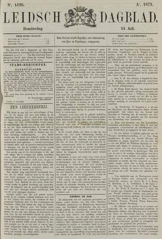 Leidsch Dagblad 1873-07-24
