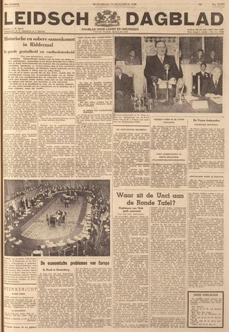 Leidsch Dagblad 1949-08-24