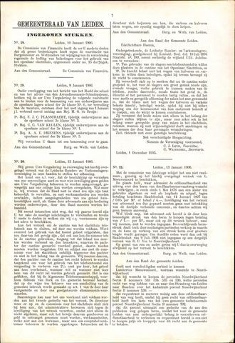 Handelingen van de Raad 1906-01-10