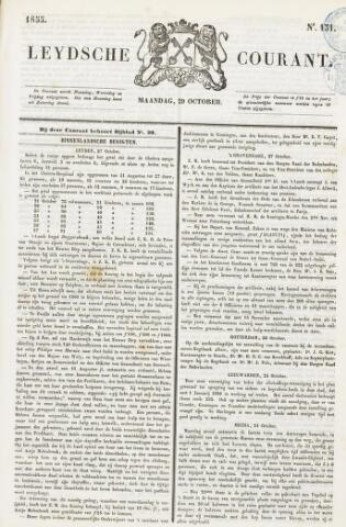 Leydse Courant 1855-10-29
