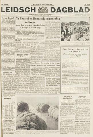 Leidsch Dagblad 1954-09-15