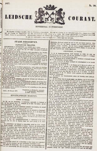 Leydse Courant 1877-02-15