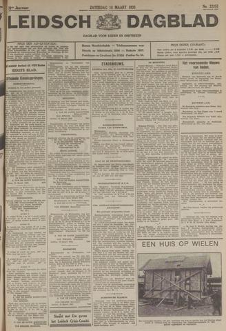 Leidsch Dagblad 1933-03-18