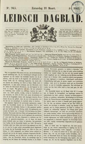 Leidsch Dagblad 1863-03-21