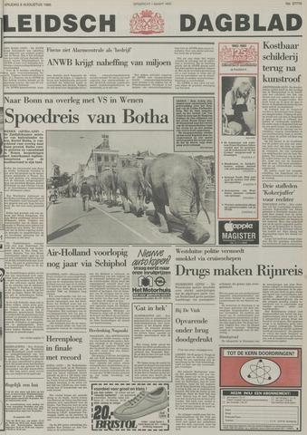 Leidsch Dagblad 1985-08-09