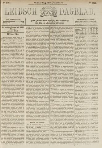 Leidsch Dagblad 1892-01-25