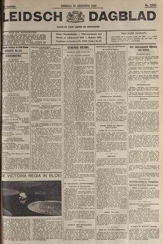 Leidsch Dagblad 1933-08-22