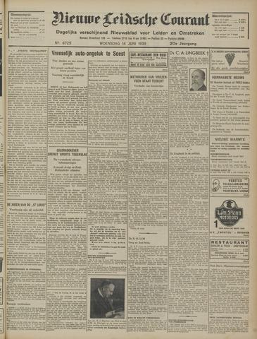 Nieuwe Leidsche Courant 1939-06-14