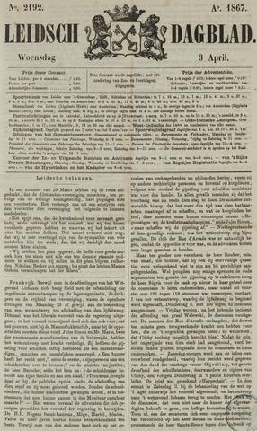 Leidsch Dagblad 1867-04-03