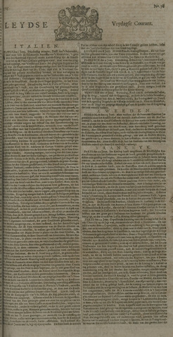 Leydse Courant 1725-06-29