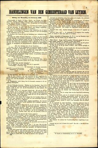 Handelingen van de Raad 1866-02-14