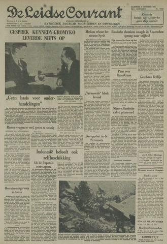 Leidse Courant 1961-10-09