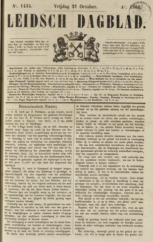 Leidsch Dagblad 1864-10-21