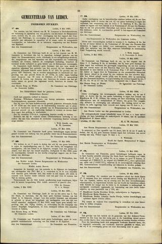 Handelingen van de Raad 1881-05-09