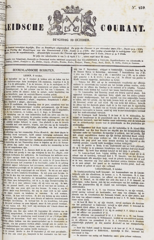 Leydse Courant 1871-10-10