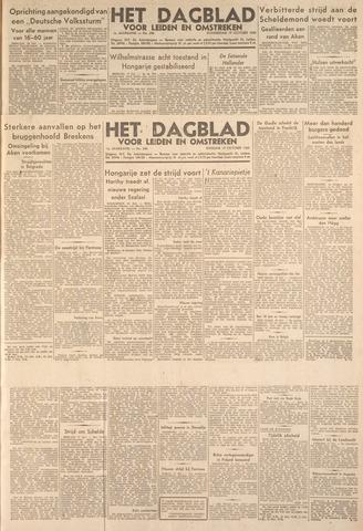 Dagblad voor Leiden en Omstreken 1944-10-17