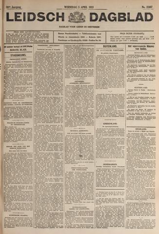 Leidsch Dagblad 1933-04-05