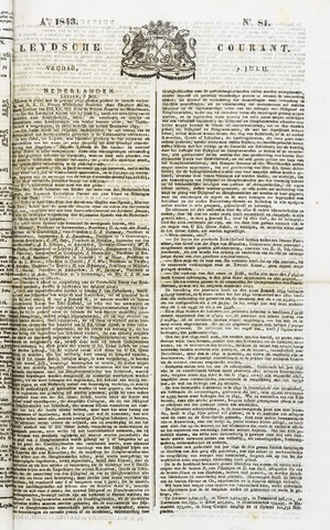 Leydse Courant 1843-07-07