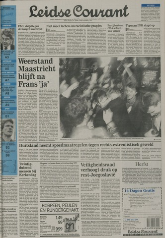 Leidse Courant 1992-09-21