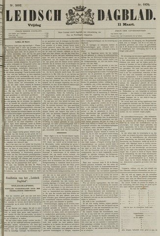 Leidsch Dagblad 1870-03-11