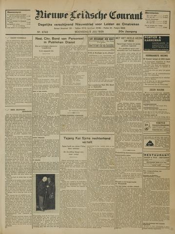 Nieuwe Leidsche Courant 1939-07-05