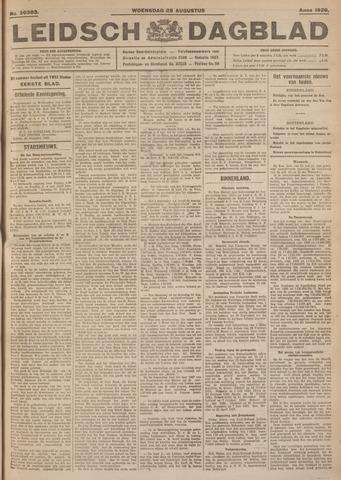 Leidsch Dagblad 1926-08-25