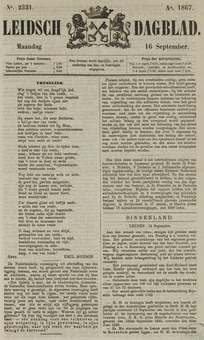 Leidsch Dagblad 1867-09-16